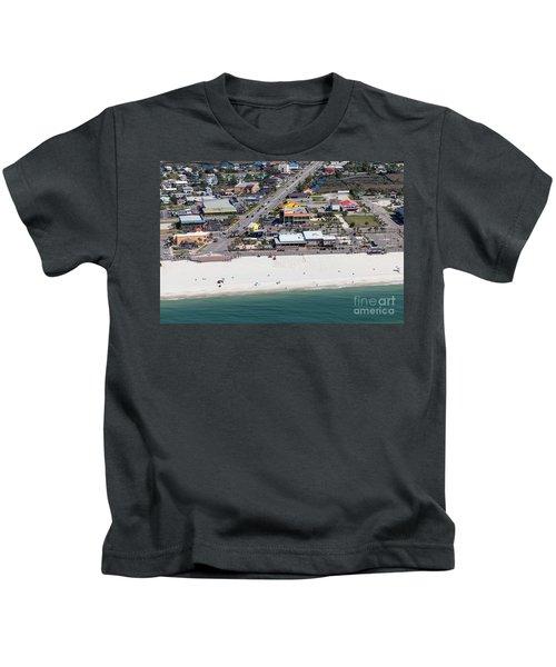 Gulf Shores Beach 7139 Kids T-Shirt