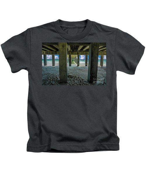 Gulf Shores Park And Pier Al 1649b Kids T-Shirt