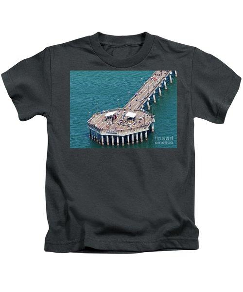 Gulf State Park Pier 7467 Kids T-Shirt