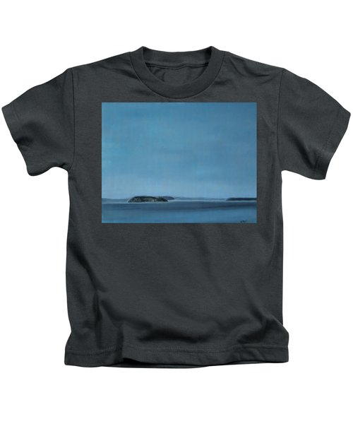 Hat Island View From Harborview Park Kids T-Shirt