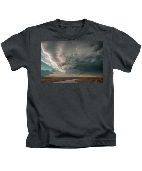 Hay Springs Ne Supercell Kids T-Shirt