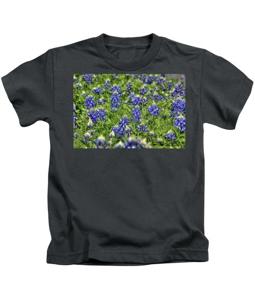 Heavenly Bluebonnets Kids T-Shirt
