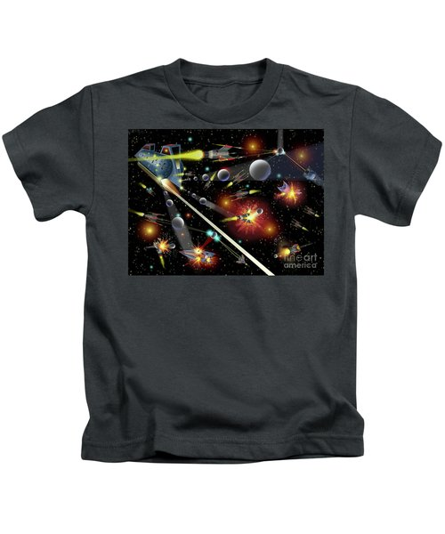 Hell In Space Kids T-Shirt