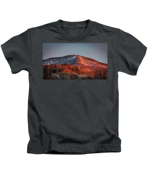Hibriten Mountain - Lenoir, North Carolina Kids T-Shirt