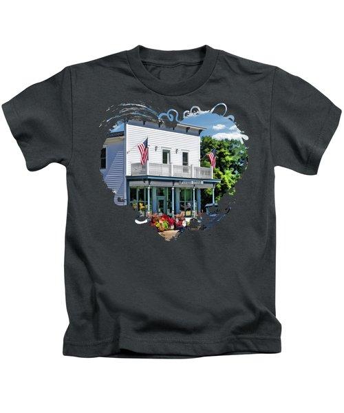Historic Pioneer Store In Ellison Bay Door County Kids T-Shirt
