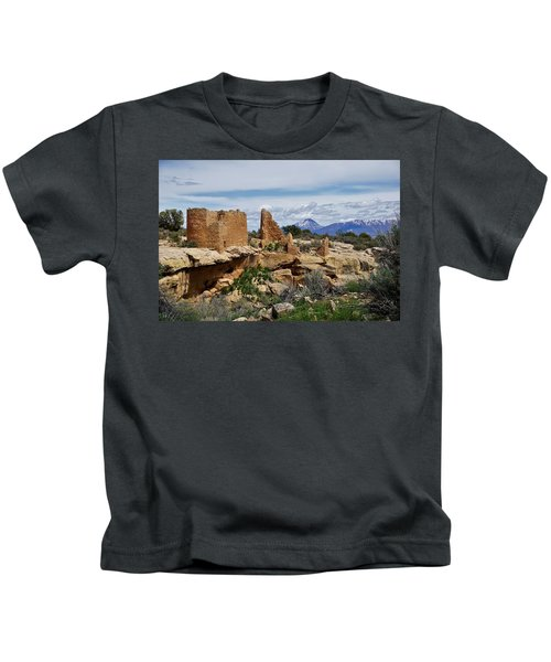 Hovenweep Castle Kids T-Shirt