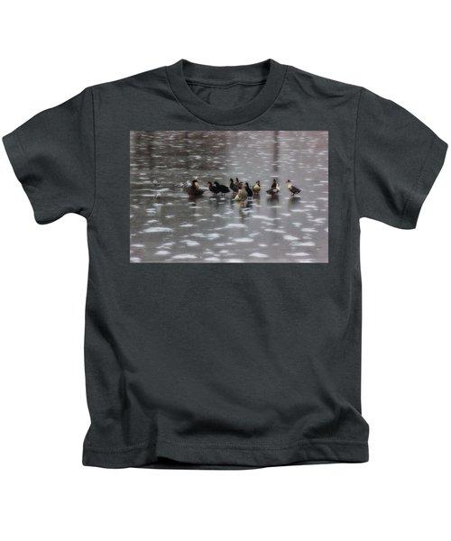 Huddled Kids T-Shirt
