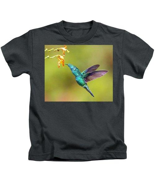 Humhum Bird Kids T-Shirt