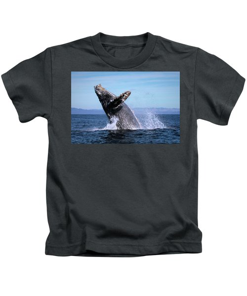 Humpback Breaching - 01 Kids T-Shirt