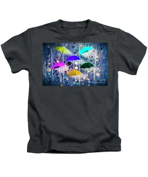Imagination Raining Wild Kids T-Shirt
