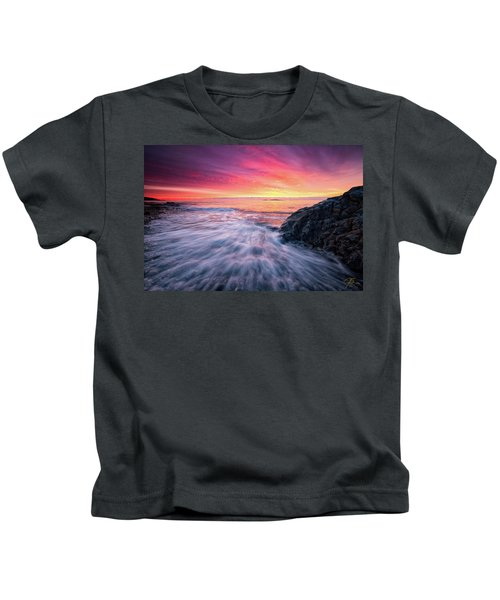 In The Beginning There Was Light Kids T-Shirt
