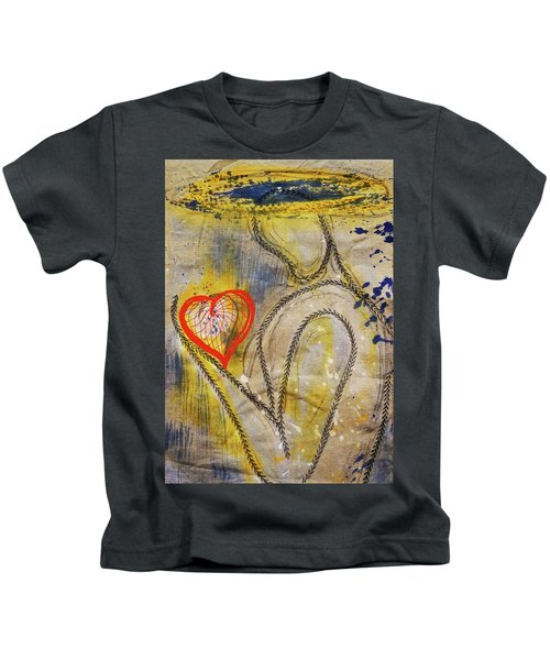 In The Golden Age Of Love And Lies Kids T-Shirt