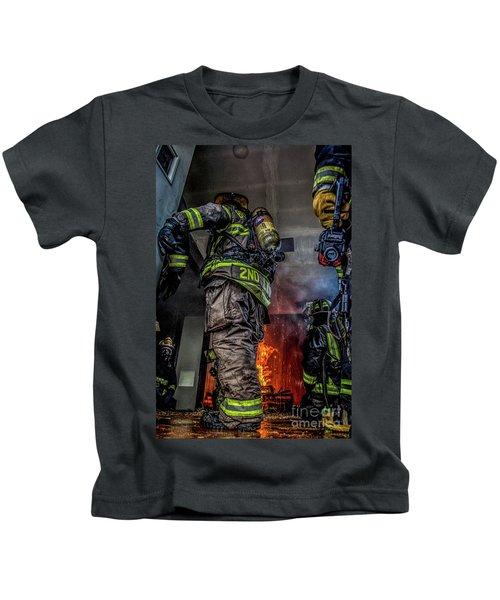 Interior Live Burn Kids T-Shirt