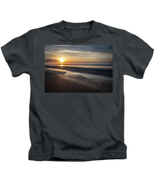 Isle Of Palms Morning Patterns Kids T-Shirt