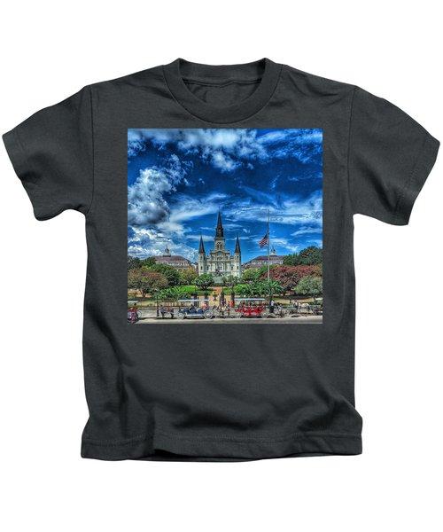 Jackson Square Nola Kids T-Shirt