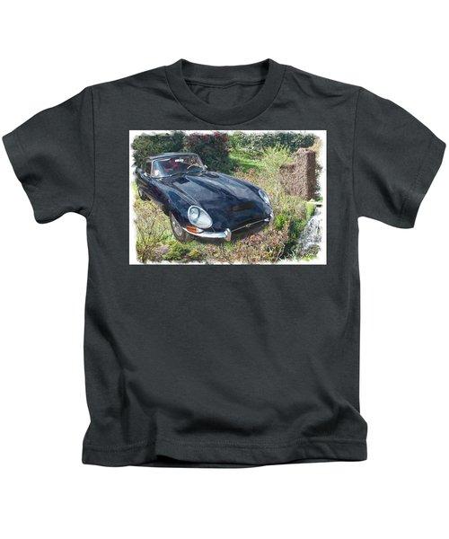 Jaguar E Type Kids T-Shirt