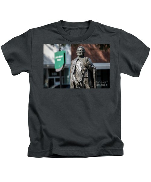 James Brown Statue - Augusta Ga Kids T-Shirt