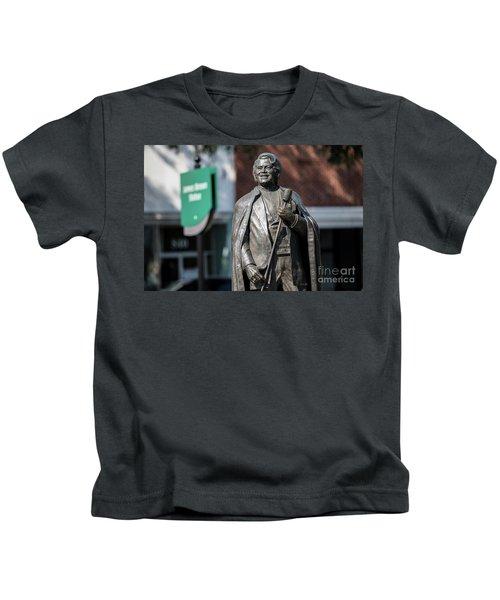 James Brown Statue - Augusta Ga Kids T-Shirt
