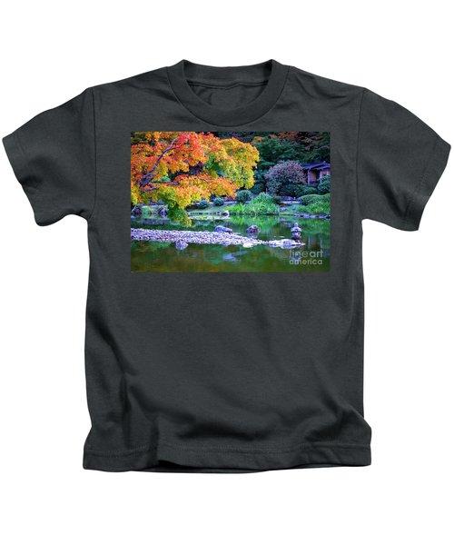 Japanese Garden Kids T-Shirt
