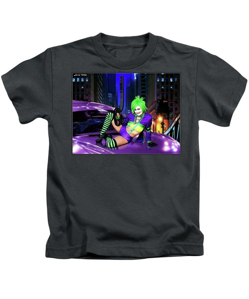 Joker The Color Purple Kids T-Shirt