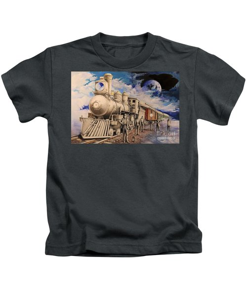 Journey Through The Mists Of Time Kids T-Shirt