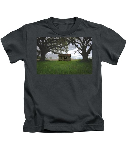 Just Me And The Trees Kids T-Shirt