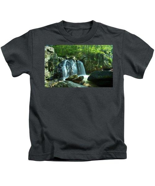 Kilgore Falls In Summer Kids T-Shirt