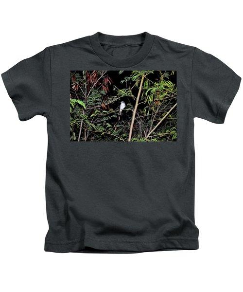 Kingbird At Night Kids T-Shirt