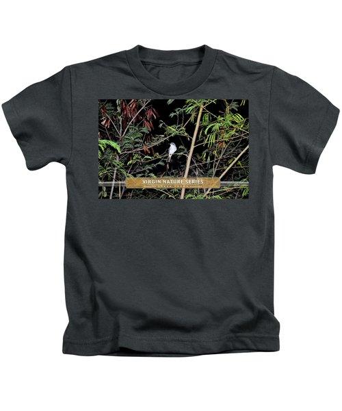 Kingbird In Casha - Virgin Nature Series Kids T-Shirt