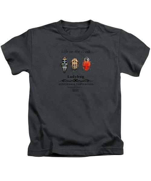 Ladybug Life Cycle Kids T-Shirt