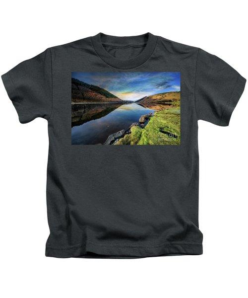 Lake Geirionydd Sunset Kids T-Shirt