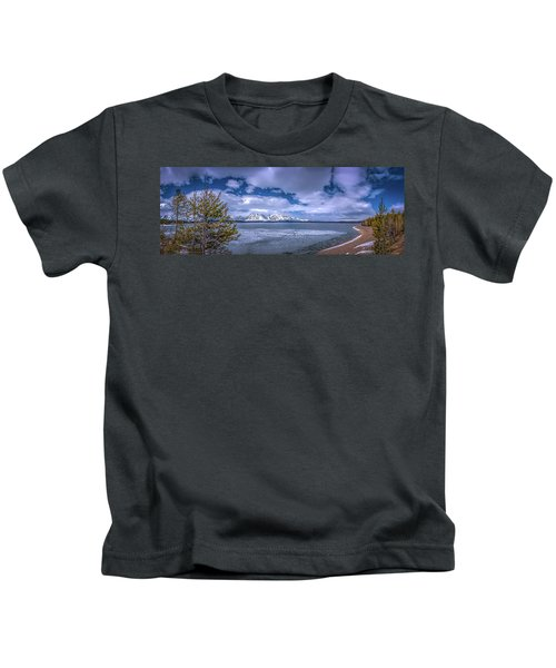 Lake Jackson Wyoming Kids T-Shirt