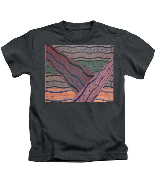 Lake Pat Sign Collage Kids T-Shirt