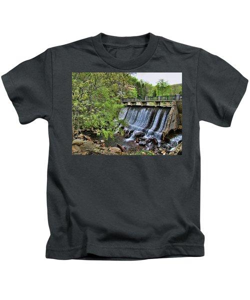 Lake Susan Overflow At Montreat Kids T-Shirt
