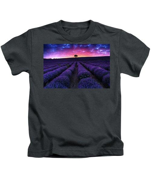 Lavender Dreams Kids T-Shirt