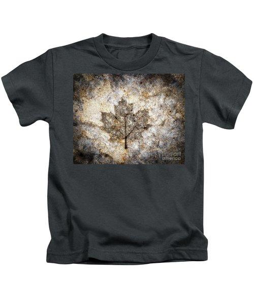 Leaf Imprint Kids T-Shirt