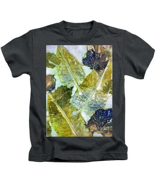 Leaves Of Nature Eco Dyed Print Kids T-Shirt