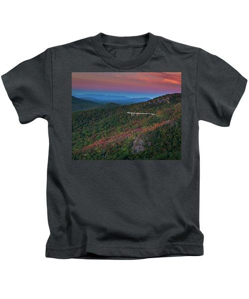 Linn Cove Pink And Blue Kids T-Shirt