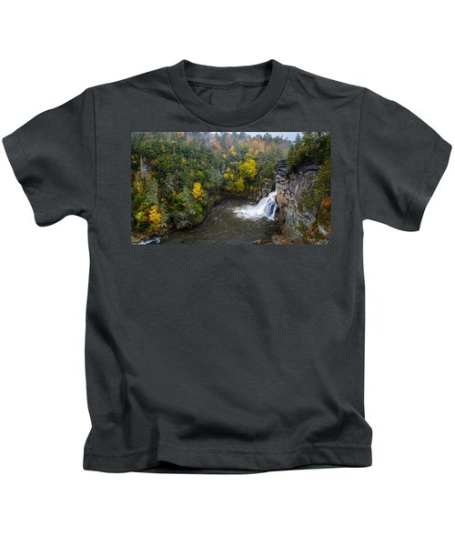 Linville Falls - Linville Gorge Kids T-Shirt