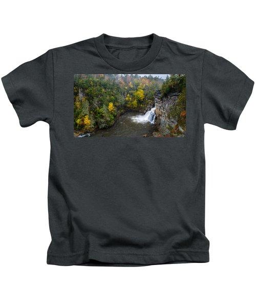 Linville Falls - Linville Gorge Kids T-Shirt