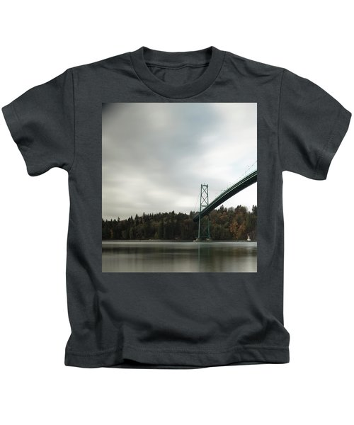 Lions Gate Bridge Vancouver Kids T-Shirt