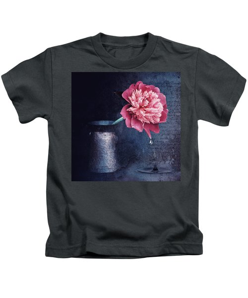 Lonely Peony Kids T-Shirt