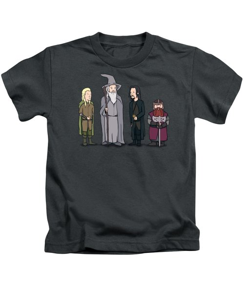 Lord Of The Hill Kids T-Shirt