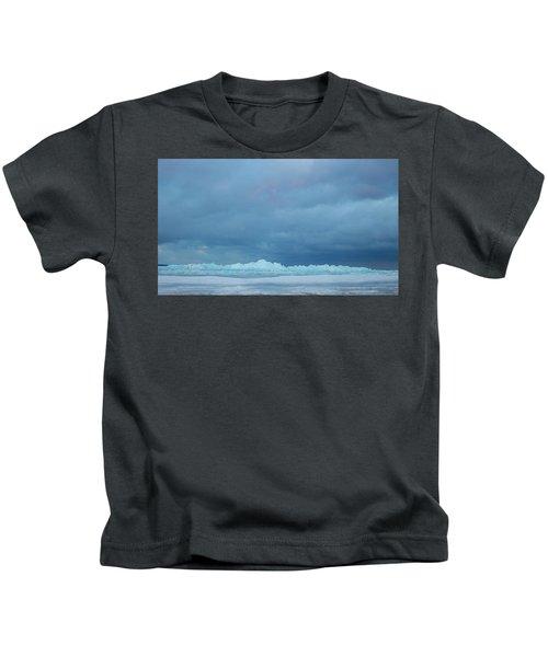 Mackinaw City Ice Formations 21618012 Kids T-Shirt