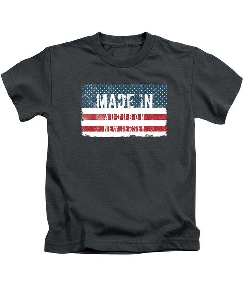 Made In Audubon, New Jersey Kids T-Shirt