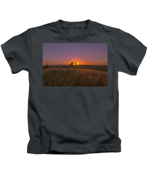 Magpie Mine Sunset Kids T-Shirt