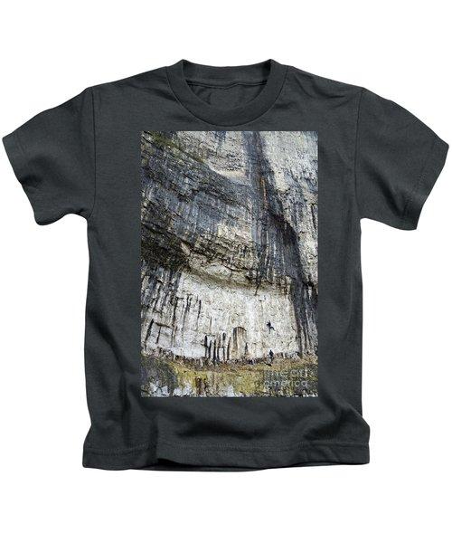 Malham Cove Climbers Kids T-Shirt