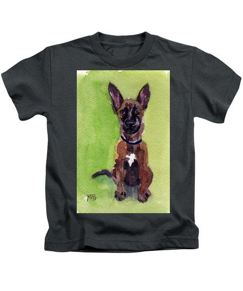 Malinois Pup 2 Kids T-Shirt