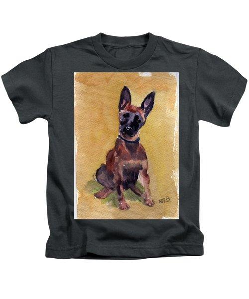 Malinois Pup Kids T-Shirt