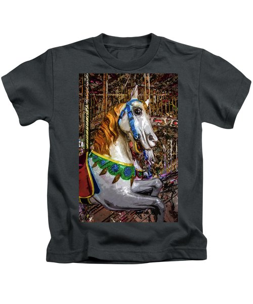 Mall Of Asia Carousel 1 Kids T-Shirt